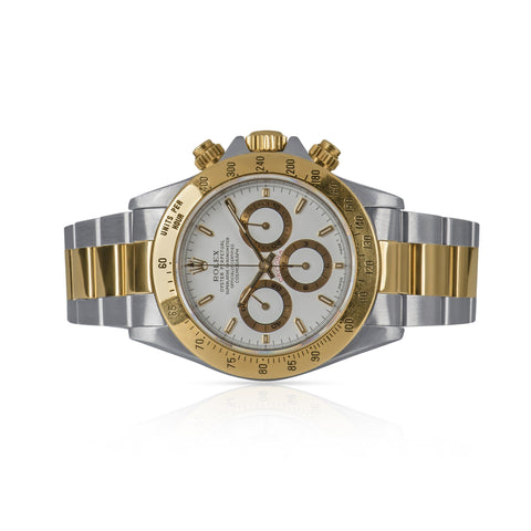 Rolex Daytona 16523 Automatic Watch ZENITH Movement 18k & Stainless Steel.