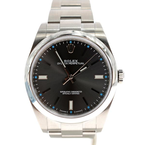 Rolex Oyster Perpetual 39 Stainless Steel Model 114300 Watch.