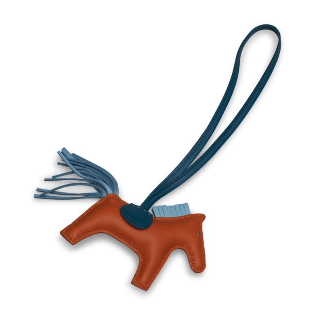 Hermes Rodeo Bag Charm GM Multi ColorSwift Leather Rodeo Horse.