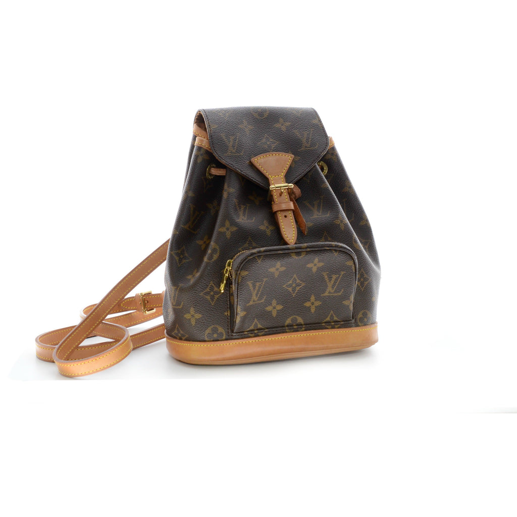 Louis Vuitton Monogram Montsouris Backpack.