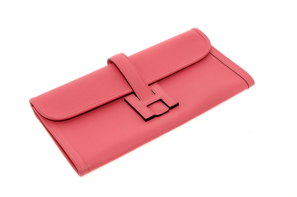 Hermes Jige 29cm Rose Azalee Epson Leather Circa 2017