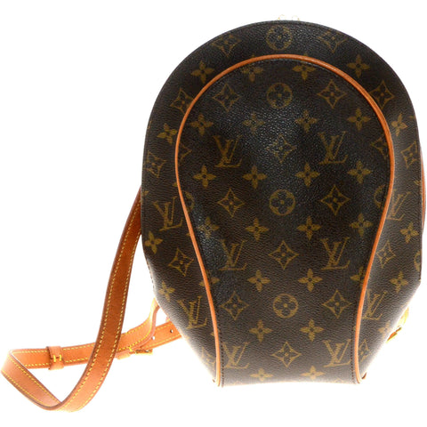 Louis Vuitton Monogram Canvas Ellipse Backpack Bag.
