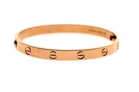 Cartier Love Bracelet Rose Gold Size 20cm