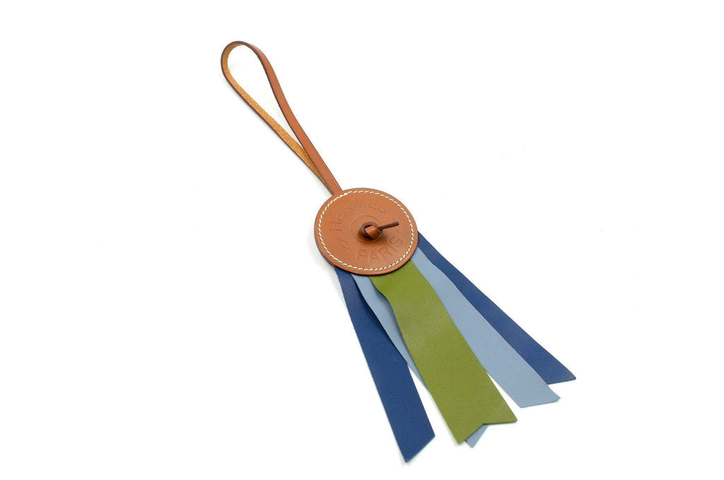Hermes Bag Charm Ribbon Medal
