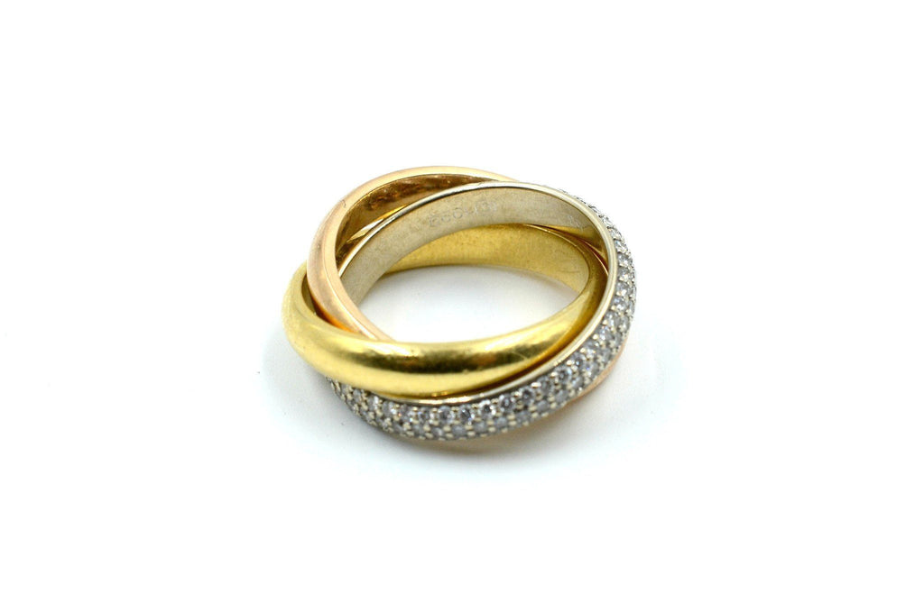 Trinity de Cartier Ring 18 K Gold