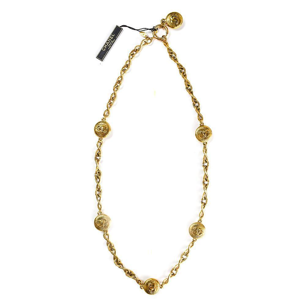 Chanel Double C Anchor Neck