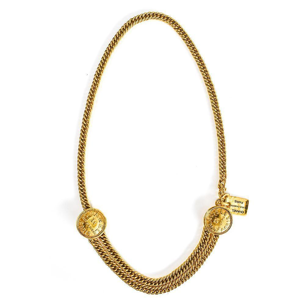 Chanel Belt Rue Cambon Necklace