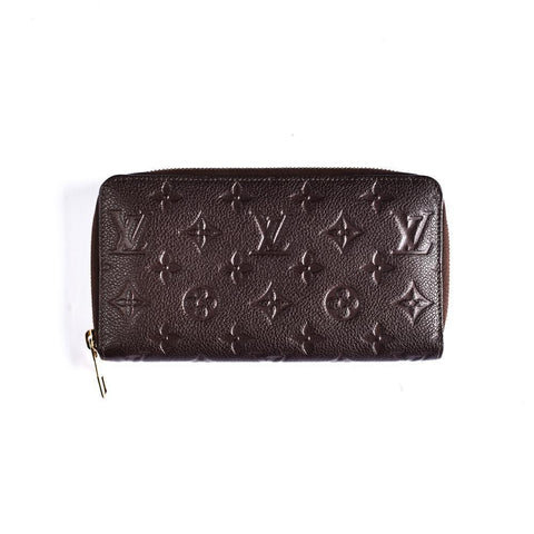 Louis Vuitton Brown Empriente Zippy Wallet