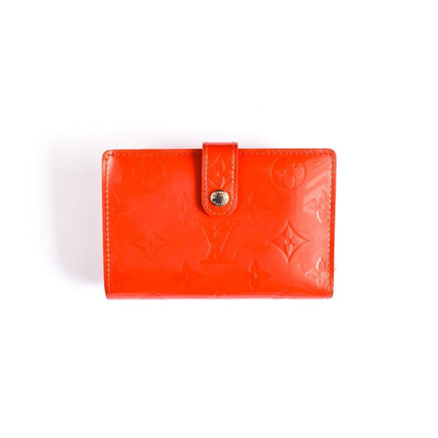 Louis Vuitton Red French Wallet