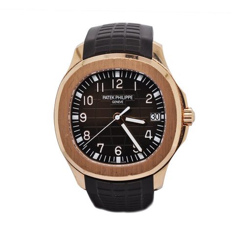 Patek Philippe Men's Aquanaut 18k Rose Gold Watch