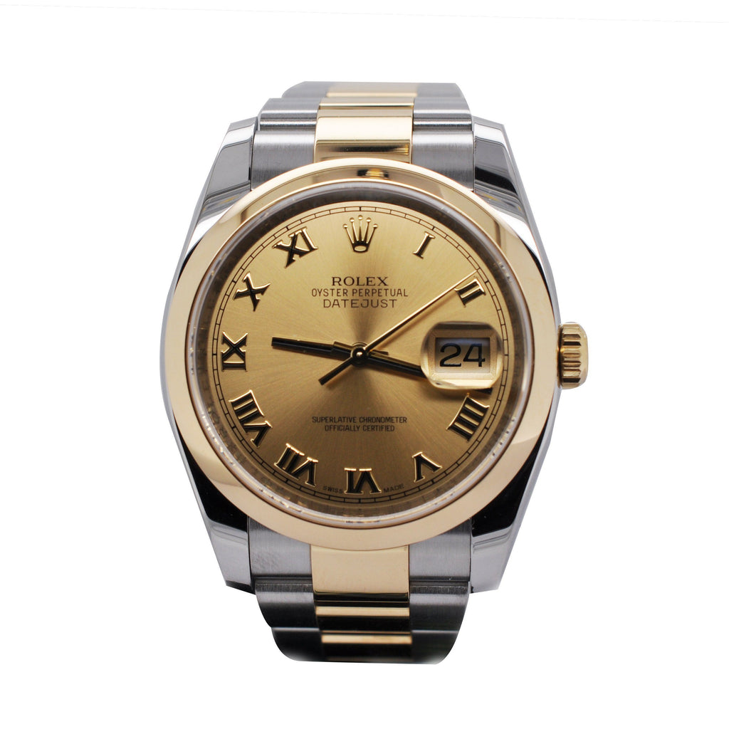 Rolex Oyster Perpetual Datejust 36 Yellow Gold & Stainless Steel Watch