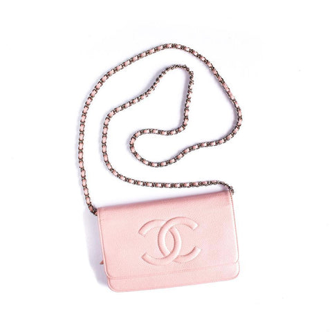 Chanel Wallet On Chain Pink Caviar