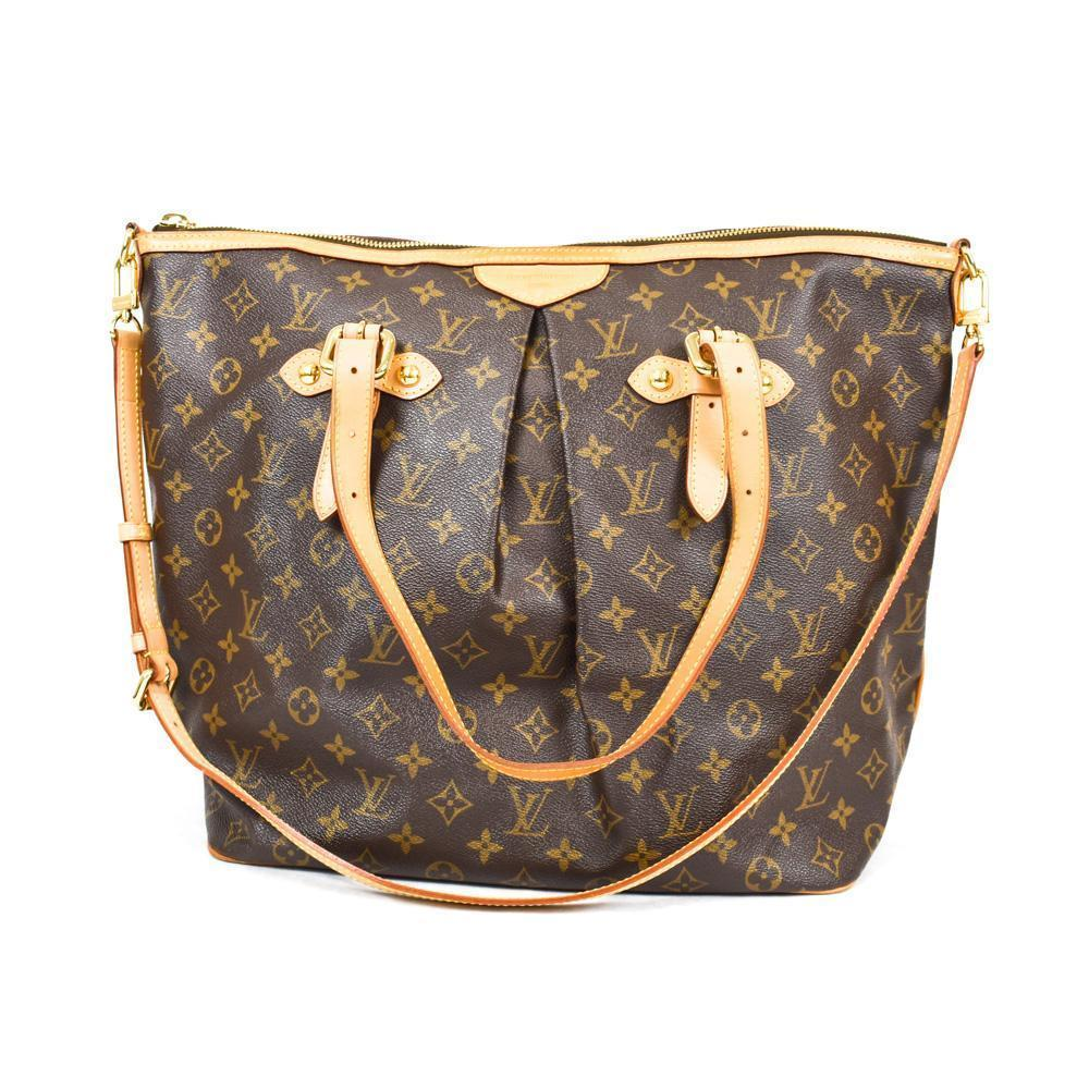 Louis Vuitton Monogram Canvas Palermo PM Bag – The Vintage Contessa ... 66dad0bfd179b