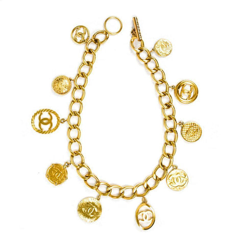 Chanel Gold Charm Belt