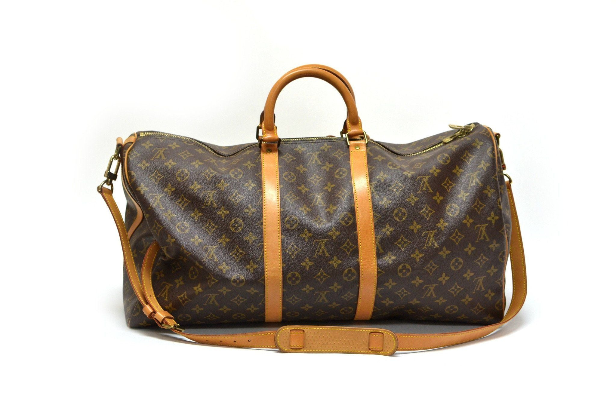 authentic vintage louis vuitton 55cm keepall bag the vintage contessa. Black Bedroom Furniture Sets. Home Design Ideas