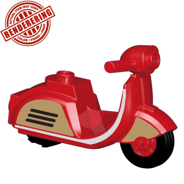 Scooter - Red (Retro)