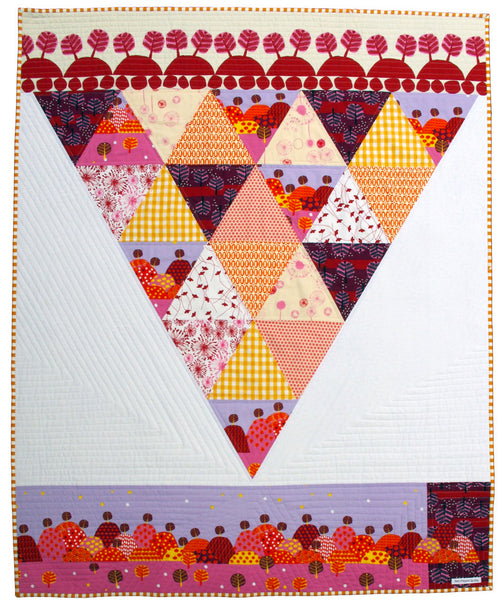 Saffron Craig fabrics in quilt by Red Pepper