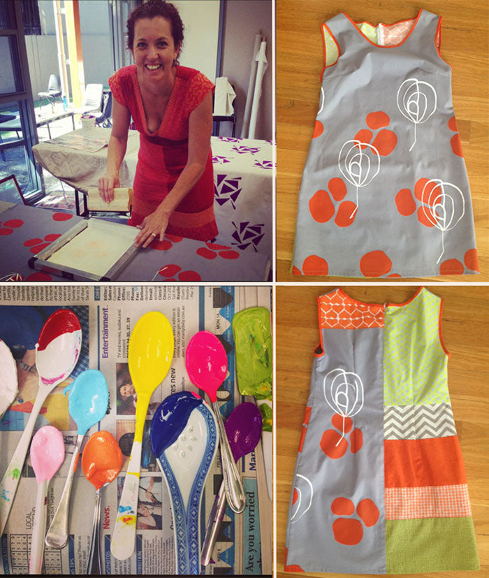 Fabric design and screen printing workshop with Saffron Craig