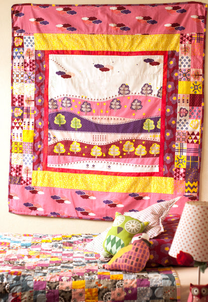 Saffron Craig Valley View Quilt kit