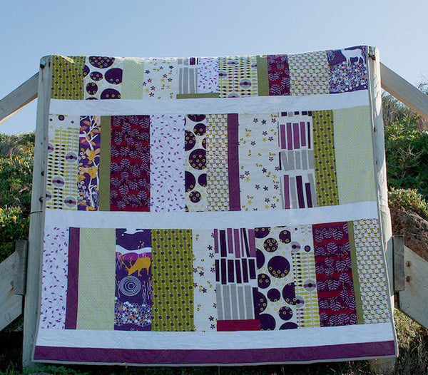 Saffron Craig fabric quilt by