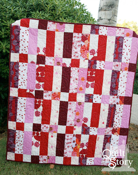 Saffron Craig Fabrics are featured on Quilt Story