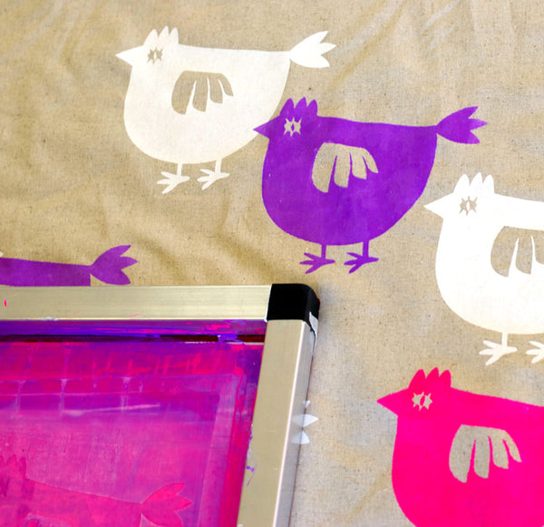 Saffron Craig Two Day Screen Printing and Fabric design Workshop for WMGQ