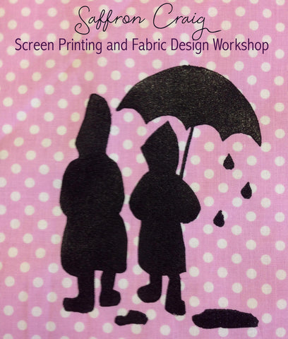 Screen Printing and Fabric Design Workshop - TUESDAY the 5th of July 2016