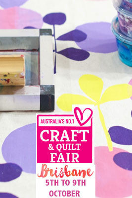 Screen Printing and Fabric Design Workshop Brisbane