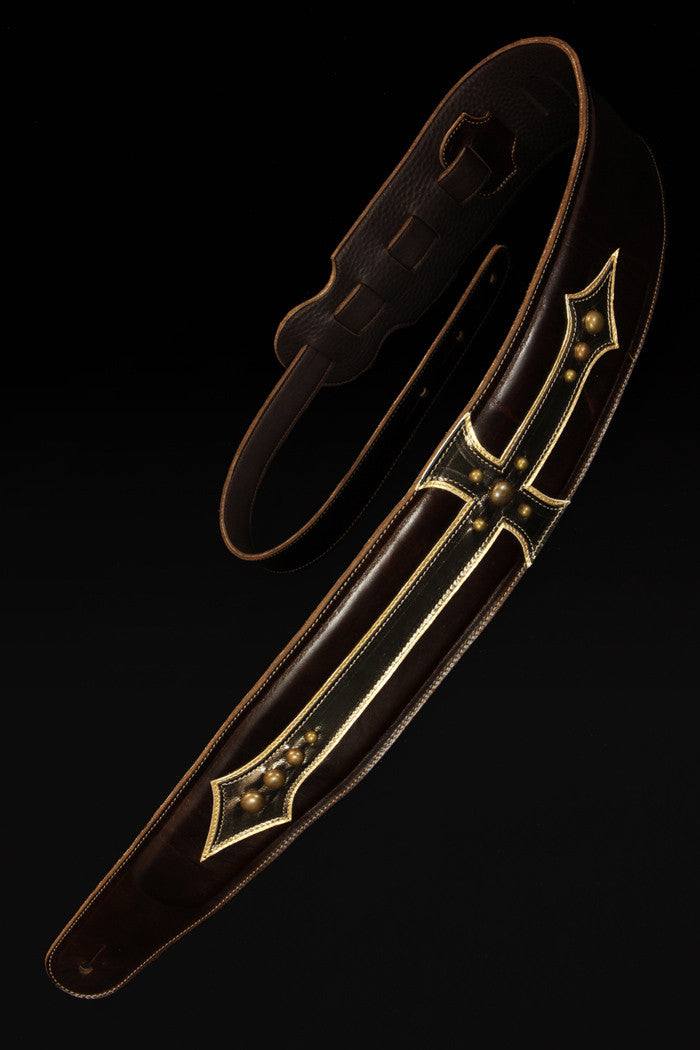 Paladin's Cross Guitar Strap