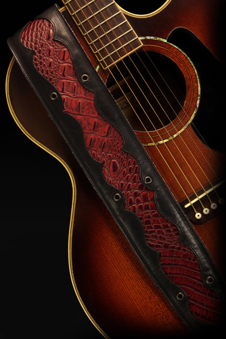 Red Rock Guitar Strap