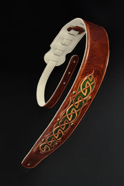 Autumn Dara Celtic Guitar Strap