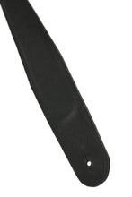 Ebony Cross Guitar Strap