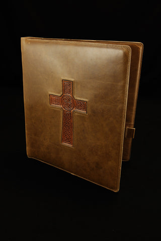 Celtic Cross Portfolio Cover