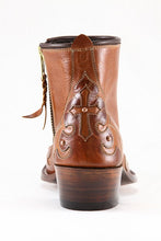 Cognac Cross Z Boots