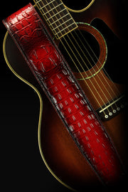 Kurg- Red Dragon Guitar Strap