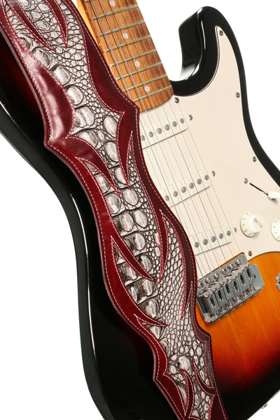 NEW Chronos Fire Guitar Strap