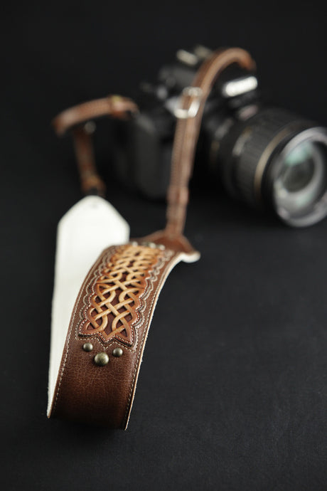 Celtic Nation Camera Strap