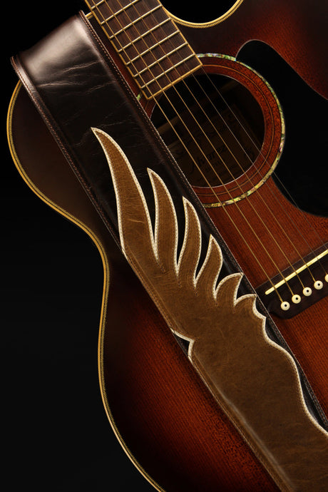 Shadow Wing Guitar Strap