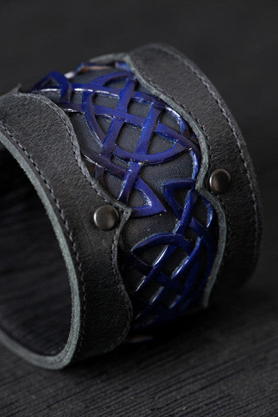 Celtic Blue Horizon Cuff