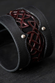 Celtic Crimson Cuff