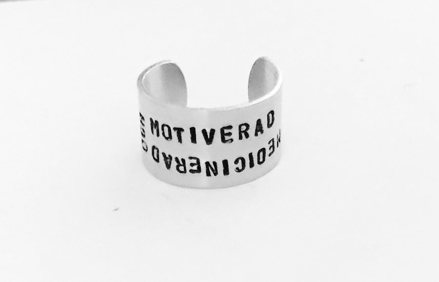 Egen text, ring 12 mm