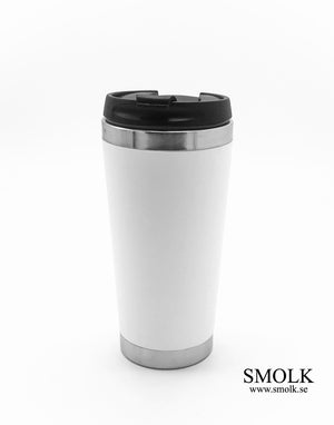 Takeaway mugg /Travel mug med egen text