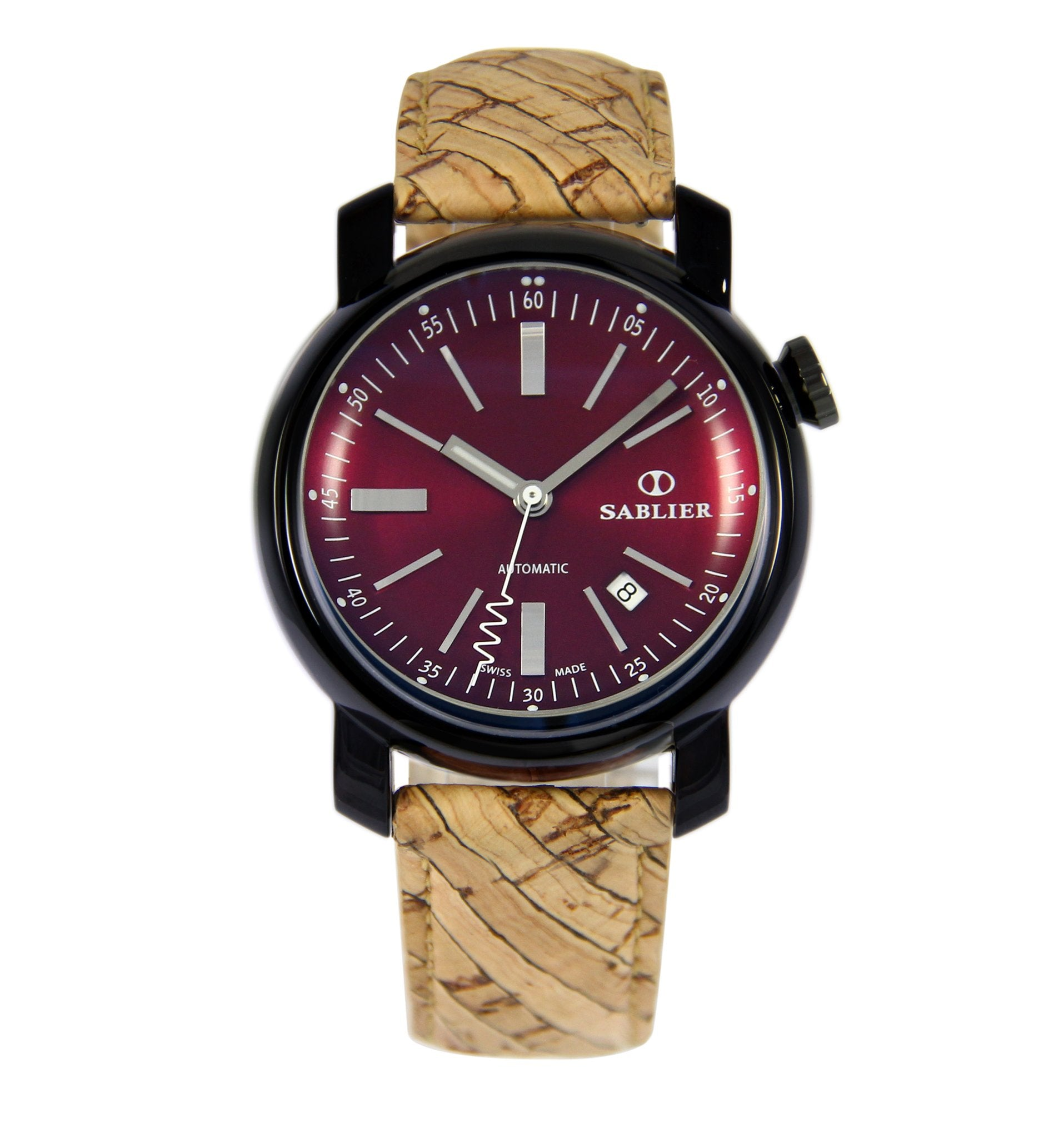 Grand Cru II (44 mm) Burgundy DLC for Men - The Watch Aficionado