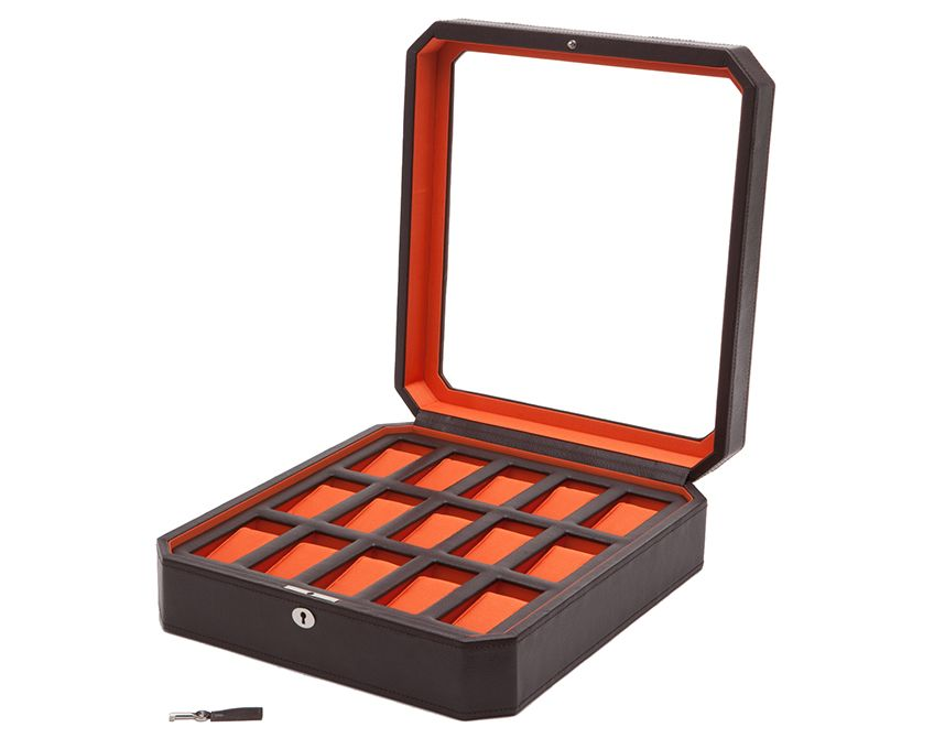 Wolf Windsor 15 Piece Watch Box - The Watch Aficionado