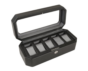 Wolf Windsor 5 piece Watch Box - The Watch Aficionado