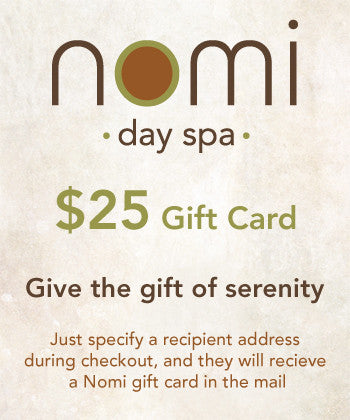 Nomi Gift Card $25