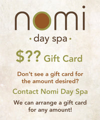 Nomi Gift Card Custom Amount