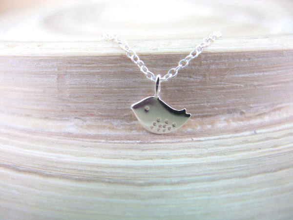 Bird 925 Sterling Silver Chain Necklace Necklace - Faith Owl