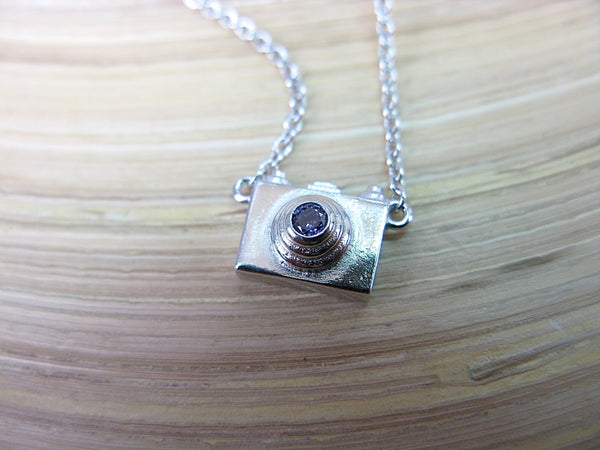Camera 925 Sterling Silver Necklace Necklace - Faith Owl