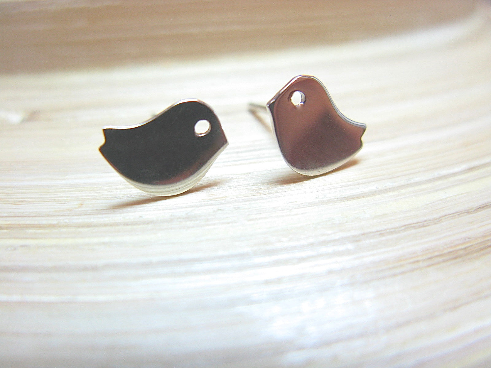 Bird 925 Sterling Silver Stud Earrings Stud - Faith Owl